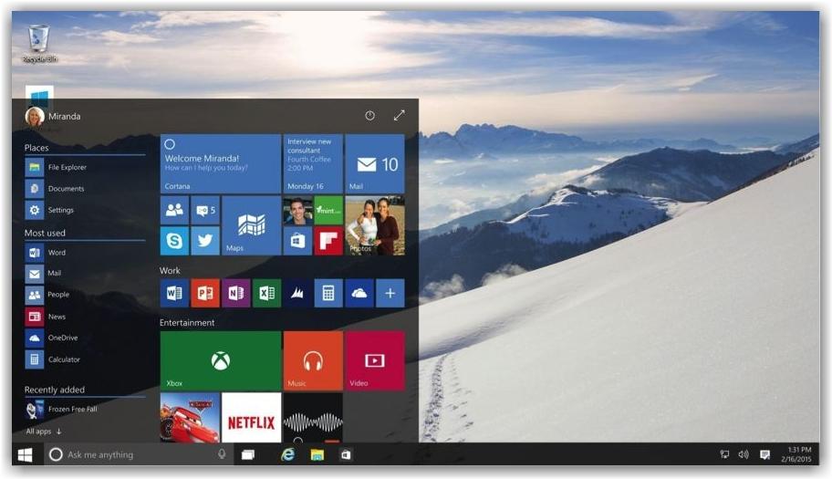 Скачать ключ для Windows 10