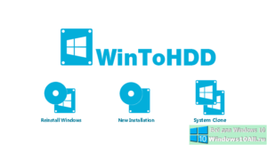 WinToHDD для клонирования или установки Windows без диска и флэшки