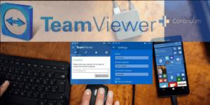 Программа TeamViewer добавляет поддержку Continuum в приложение для Windows