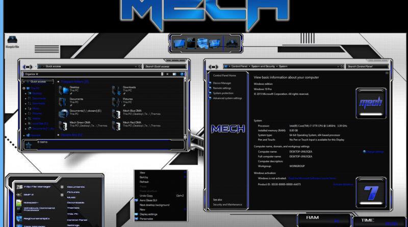 тема Mech