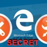 Секретные настройки браузера Edge