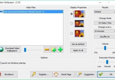 Video Wallpaper — оформление рабочего стола windows 10