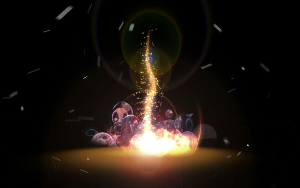 видео-обои «Огненный смерч»