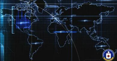видео обои Карта ЦРУ