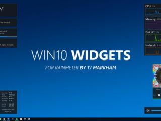 Win10 Widgets – инструмент стильных виджетов для Windows 10
