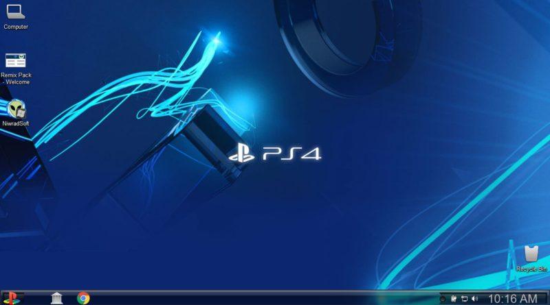 тема PS4 Remix Pack для Windows 10