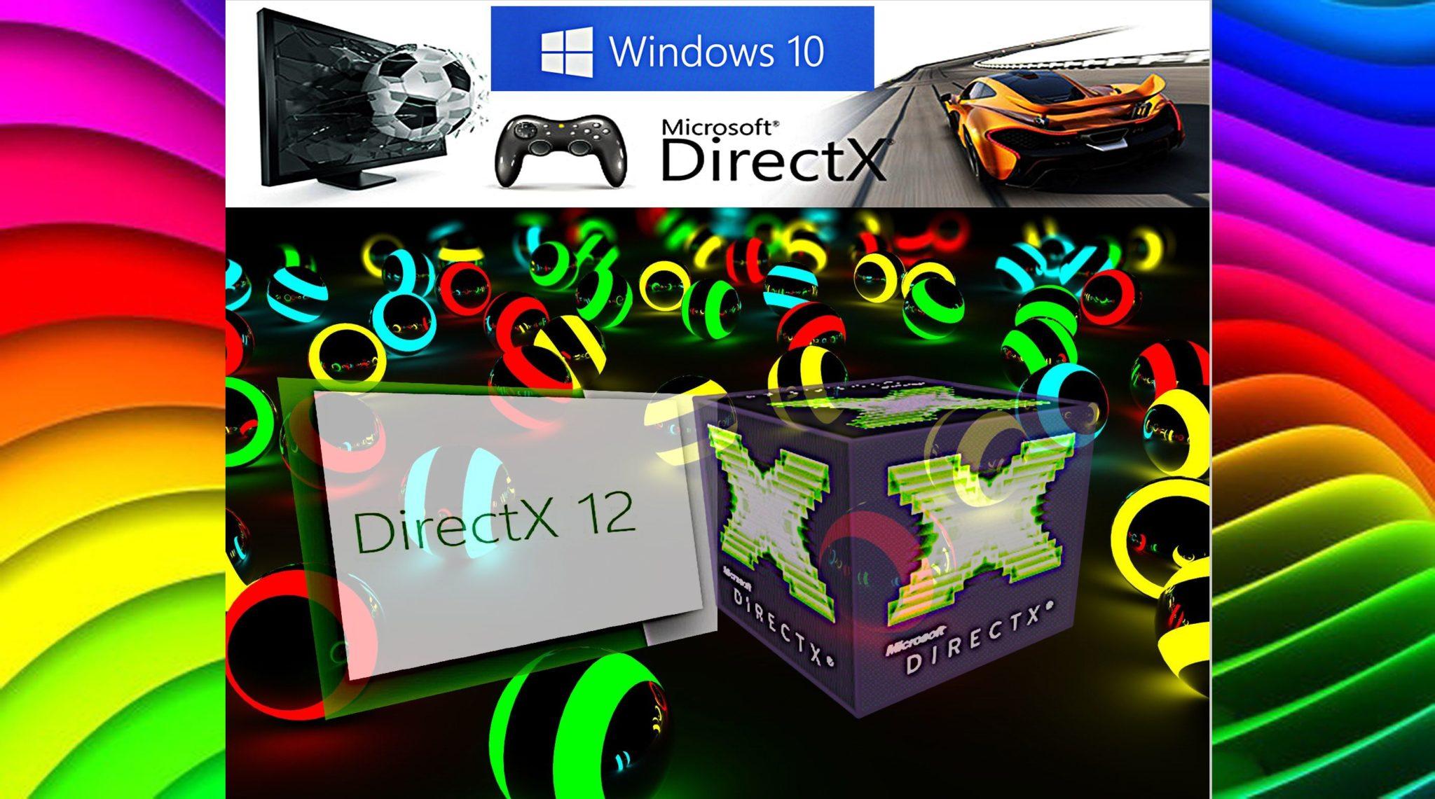 Скачать directx последнюю версию для windows 10.