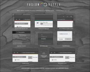 Fusion VS — стильная серая тема для Windows 10