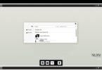 NUXV — светлая тема для Windows 10 в черно-белых тонах