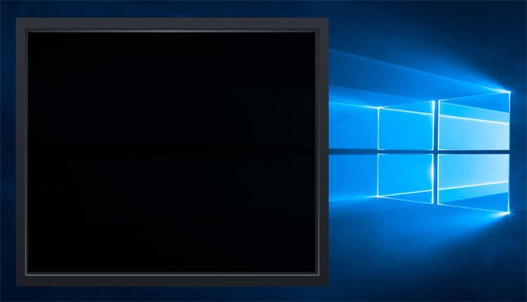 Не загружается Windows 10 — черный экран