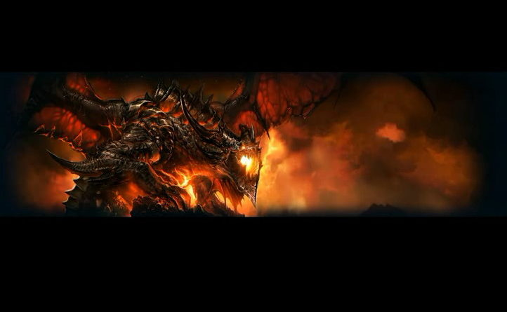 видео-обои «World of Warcraft – Deathwing»
