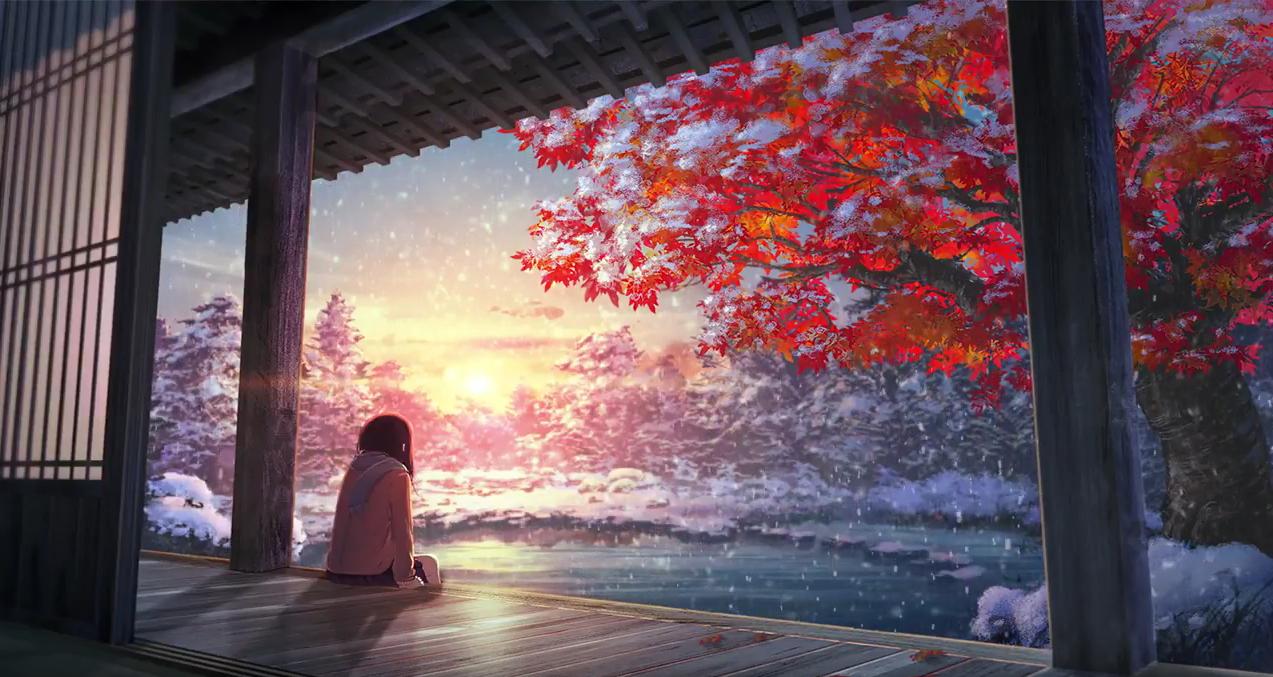 видео-обои «The Snow Anime»