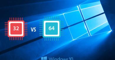 Windows 10 лучше: 32х или 64х-разрядная версия