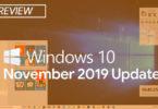 Обновление Windows 10 November 2019 Update