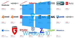 Облегченный бесплатный антивирус для Windows 10