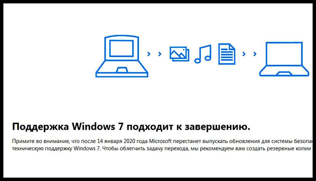 Прощание с Windows 7 и переход на Windows 10 бесплатно