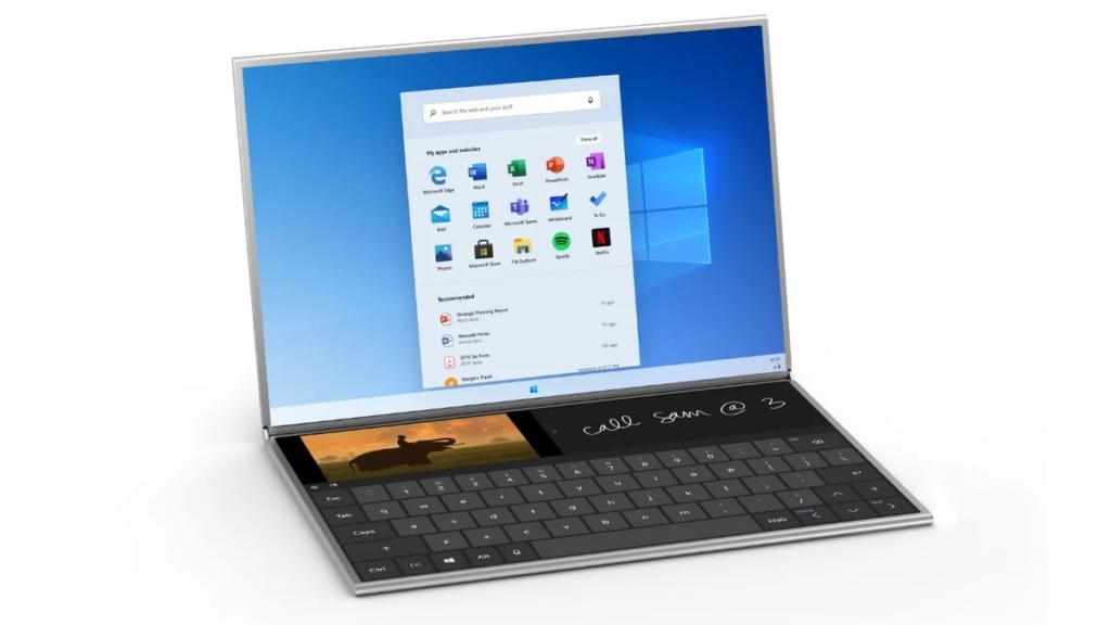 Обновленная концепция Windows 10 с внешним видом Windows 10X
