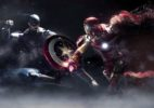 видео-обои «CAPTAIN AMERICA VS IRON MAN»